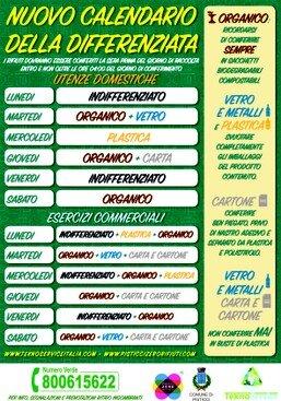Calendario Raccolta Differenziata Napoli.News News News